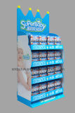 新製品のためのボール紙のフロア・ディスプレイの立場の広告