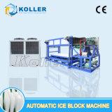 Koller 5000kg per macchina automatica superiore del blocco di ghiaccio di giorno