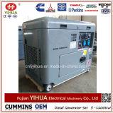 генератор Kohler электрического портативного молчком экземпляра 5kw 5kVA 6kVA Air-Cooled тепловозный
