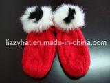 Bambini di angora/scaldini piedino del bambino/calzini lavorati a maglia/calza/Legging