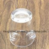 Dimensión de una variable modificada para requisitos particulares taza de cristal caliente de los vidrios de la impresión de la insignia del vino de la venta