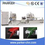 CNC van het Venster van het aluminium de Machine voor Dubbel bewerkt Scherpe Machine in verstek