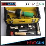 Pistola di calore di plastica della saldatura e ventilatore caldo del fucile ad aria compressa