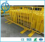 Draagbare Barricades van de Barrière van de Controle van de Menigte van het metaal VoetBarrières
