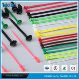 Envoltórios ajustáveis Releasable reusáveis da cinta plástica/laço do fio dos vários usos baratos de Haitai