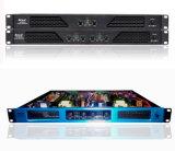 Amplificador audio profesional de Digitaces del panel azul del color