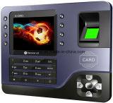 Máquina de cartão do tempo da tela da cor das Muti-Línguas TFT