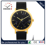 Montre-bracelet de mode d'acier inoxydable de quartz pour l'homme et la femme, Reloj