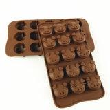 15 силикона свиньи частей прессформы шоколада