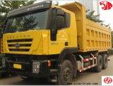 콩고에서 최신 340/380HP 6X4 Iveco Genlyon 덤프 트럭