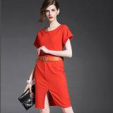 Madame élégante Dress du plus défunt de conception modèle européen de mode
