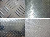 Barre Checkered en aluminium Anti-Slippy du plat de plancher de plat de bande de roulement de plat un, barre cinq