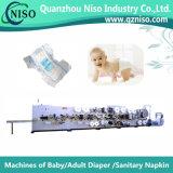 Professionnel type normal Machine à couches pour bébés avec SGS (YNK300)