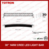 "UN CREE LED Light Bar di 29.5 "" 140W Highquality Single Row per 4X4 con CE, RoHS, IP67 Certificated (TLB5140X)"