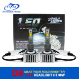 Auto diodo emissor de luz Car Headlight do diodo emissor de luz Headlight 30W 3200lm H3 de Lighting Car Luxeon, diodo emissor de luz Headlight de Motorcycle, 6V diodo emissor de luz Headlight