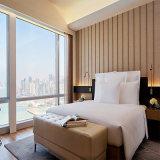 贅沢なKingsize寝室セットのホテルの家具