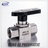 Клапан штепсельной вилки Operating нержавеющей стали ручной для высокого давления (MG-B-NPT1/2, MG-B-G1/2)