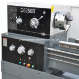 慣習的な旋盤C6250bを切り、回す大きい穴の金属