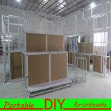 Подгонянная портативная Dismountable модульная будочка выставки с доской MDF