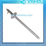 Pistolet de pulvérisation de refroidissement de fil masculin de l'eau d'ammoniaque de conduite de cheminée