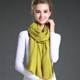 نساء في شتاء أن يحافظ أصفر دافئ جلّيّة  بوليستر وشاح شال