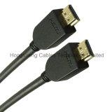 PVC 50FT черный отливая кабель в форму HDMI с Nylon сетью