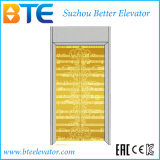 Ce Golden Cabin Gearless Passenger Elevator with Small Machine Room