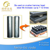 Tic Impactor Rods para Casting on Crusher Hammer Head