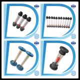 フランジ水センサーの空気プラスチック管の電磁石の流量計