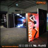 Moda Tecido Trade Show LED caixas de luz Booth