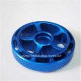 Pièces de usinage anodisées bleues de précision pour des pièces d'auto