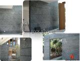 Естественное белое/чернота/желтый цвет/красный каменный мрамор для плитки настила
