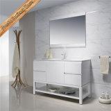 Fed-1204 armários de banheiro modernos de venda quentes de um revestimento cinzento de 32 polegadas