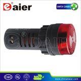 señal sonora de la alarma de la luz de indicador de 22m m LED 220V (AD16-22SM)