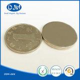 고품질 N50 희토류 NdFeB 자석 물자 디스크 자석