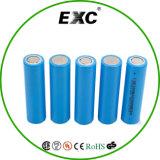 pilha de bateria da bateria 2200mAh 3.7V 18650 do Li-íon para a bateria