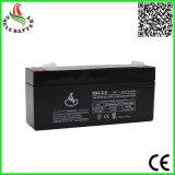 батарея AGM 6V 3.2ah перезаряжаемые загерметизированная свинцовокислотная для игрушки