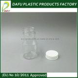 bottiglia per il latte di plastica di imballaggio farmaceutico dell'animale domestico 50ml