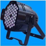 Lumière en aluminium de signal d'échantillonnage de la qualité 54X3w RVB DJ