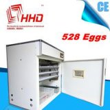 Incubadoras industriais automáticas cheias de venda da galinha do projeto novo dos ovos de Hhd as melhores 500