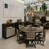 Kaviarの食堂の固体カシのダイニングテーブル(TD121)