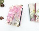 64k Flower Hardcover Paper Notebooks avec Copper (XLJ64128-X02)