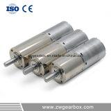 12V, piccolo motore dell'attrezzo di dente cilindrico di CC 24V con la scatola ingranaggi