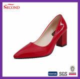 Signora Sandals dell'unità di elaborazione di colore solido del boutique