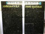 Granito azul galáctico de Ucrania, azulejos de suelo del granito para el suelo
