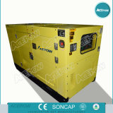 Type silencieux diesel Genset monophasé de Cummins 60Hz de 35kVA