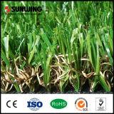 Grama sintética natural do relvado do fabricante 20mm de China para o jardim ao ar livre