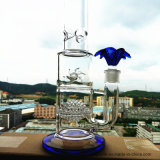 Hbking K-44 18inch 50 Diameter 5thickness Adustable Honeycomb Birdcage Shower Tobacco Glass Smoking Water Pipe