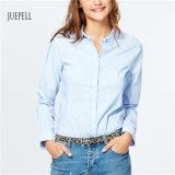 Camisa de las mujeres del algodón de la oficina