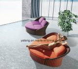 新しい普及したデザイン屋外の庭の家具のPE藤の柳細工の家具のソファーセット